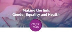 /Making the link Gender Equality and Health